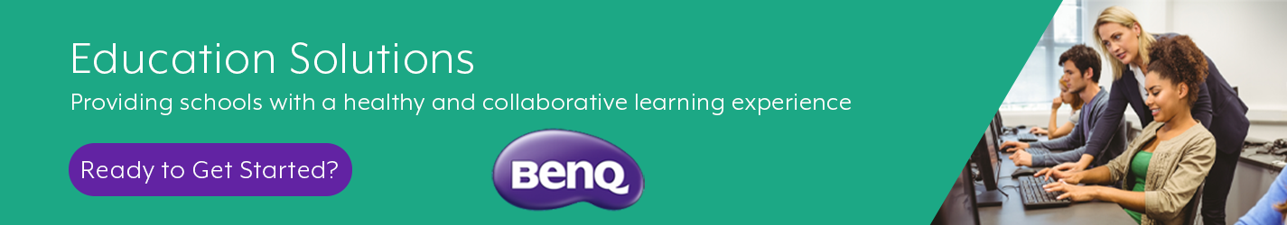 BenQ Primary Education Banner